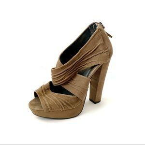 [Kurt Geiger] Suede Platform Sandal Heels